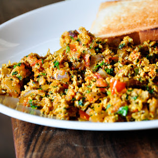 Akoori (Indian Scrambled Eggs).