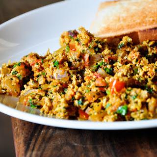 Akoori (Indian Scrambled Eggs).