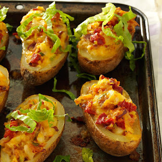 BLT Twice-Baked Potatoes.