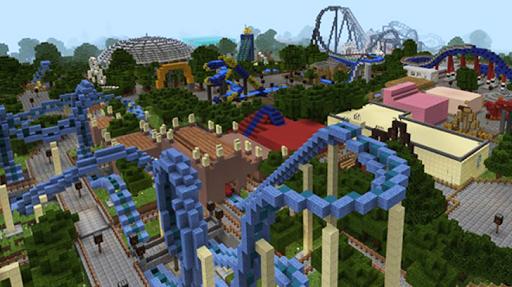 Amusement Park maps for Minecraft PE 2.3.29 screenshots 1