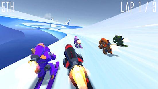 Rocket Ski Racing Screenshot 8