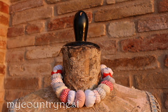 Photo: collana di perlone di cotone