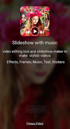 Photo video maker with music screenshot 1