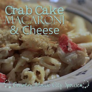 Crab Cake Macaroni & Cheese Recipe