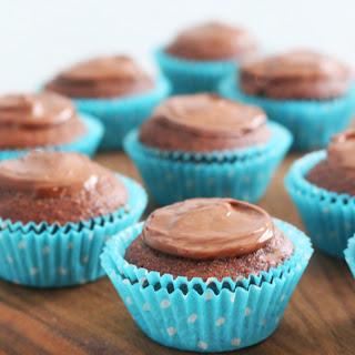 4-Ingredient Banana Nutella Mini Muffins Recipe