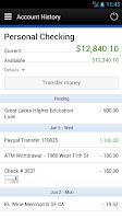 Screenshot of Tech Credit Union Mobile