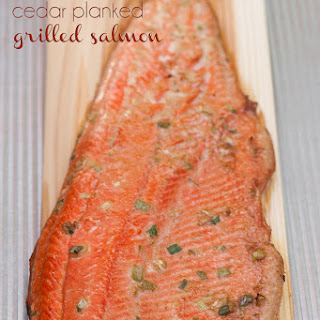 Cedar Planked Asian Salmon