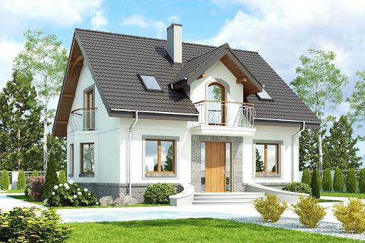 projekt Dom Dla Ciebie 3 bez garażu B