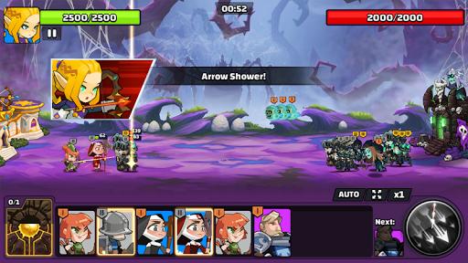 The Wonder Stone: Card Merge Defense Strategy Game 2.0.22 screenshots 4
