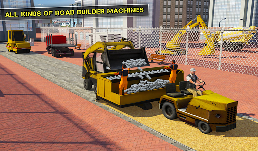 Pothole Repair Road Construction: Heavy Duty Truck for PC