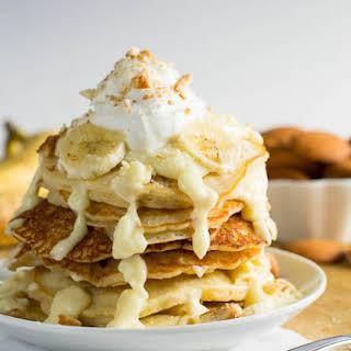Banana Pudding Pancakes.