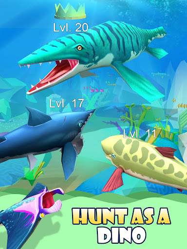 Dino Water World 3D  captures d'écran 2