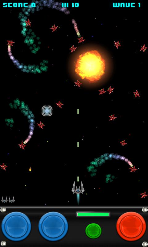 Скриншот Galactic Rift Space Shooter