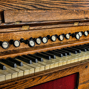 Waiting to be played by Jim Talbert - Artistic Objects Musical Instruments ( music, iowa, church, organ, chapel, instrument )