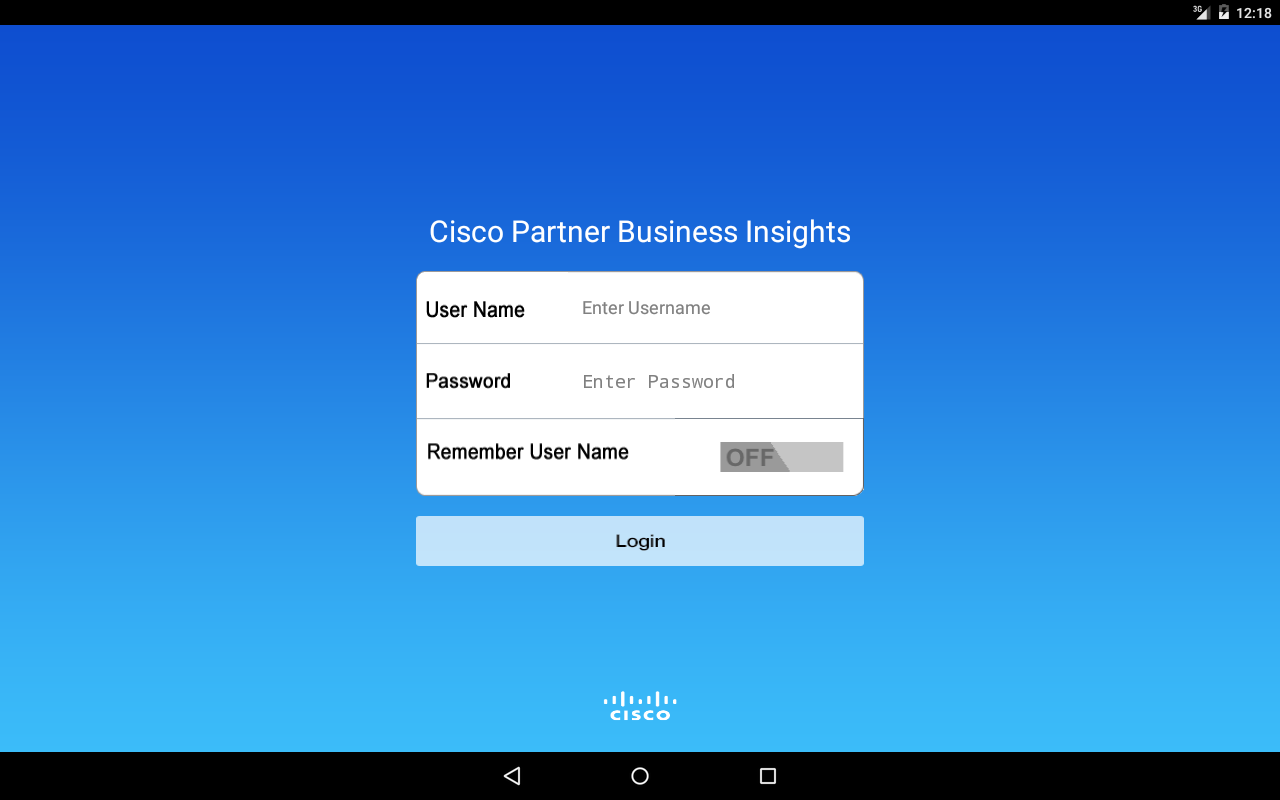 Partner Business Insights- screenshot