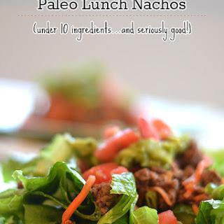 Paleo Nacho Salads.