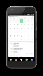 Your Calendar Widget - náhled