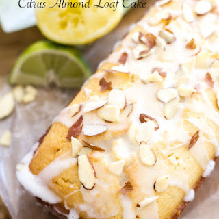 Citrus Almond Loaf Cake.