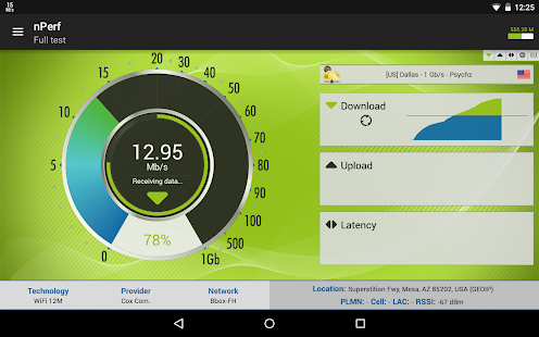 Speed Test & QoS 3G 4G WiFi- screenshot thumbnail