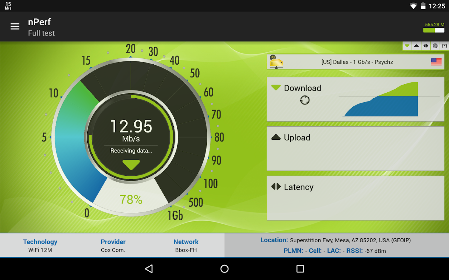 Speed Test & QoS 3G 4G WiFi- screenshot