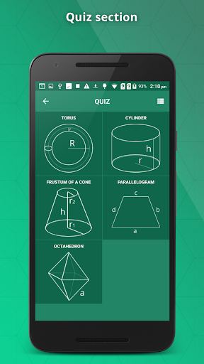 GeometrySoln : Geometry Calculation Solver 1.9 screenshots 5