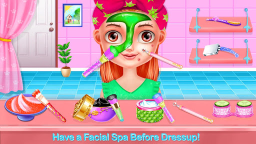Baby Girl Salon Makeover - Dress Up & Makeup Game Apk 2