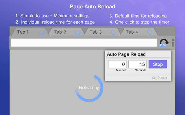 Page Auto Reload