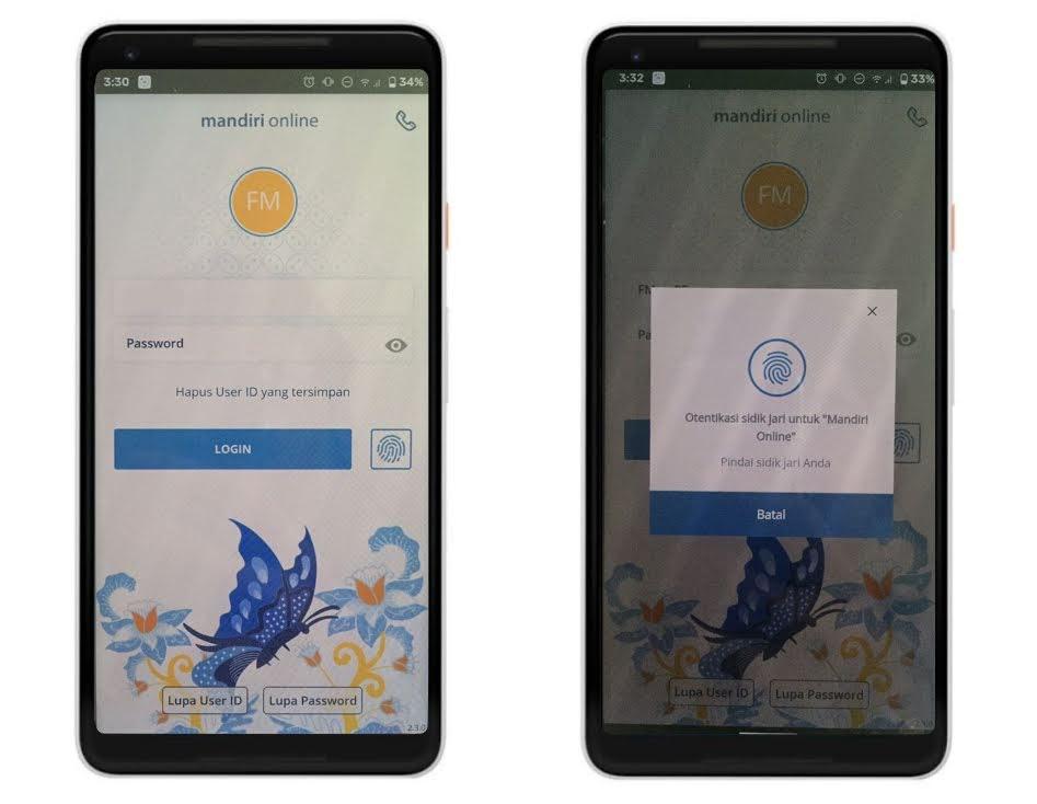 Cara Aktifkan Fingerprint Login di Mandiri Online | Fajar ...