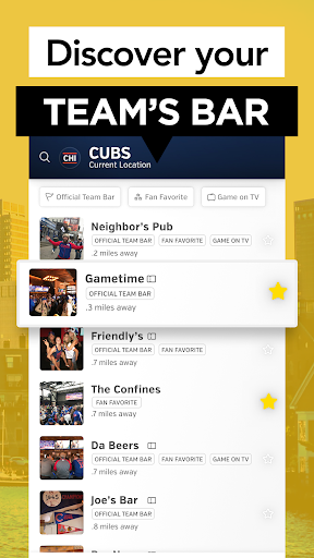 Rabble: Find Sports Bars, Restaurants & Live Games  screenshots 5