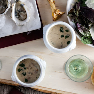 Oyster and Wild Mushroom Stew.