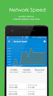 Speed Indicator - Network Speed - Monitoring Meter Screenshot