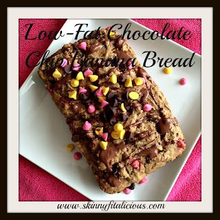 Low-Fat Chocolate Chip Banana Bread.
