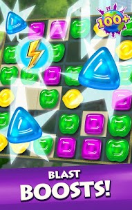 Gummy Drop! Match to restore and build cities Mod Apk Download For Android 3