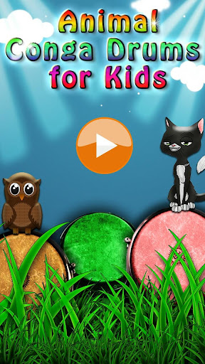 玩免費音樂APP|下載Animal Bongo Drums for Kids app不用錢|硬是要APP