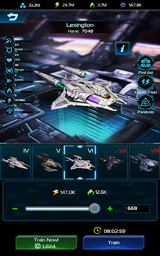 Nova Storm: Commander [Sci-fi Space Strategy] 0.10.7.29566 screenshots 15