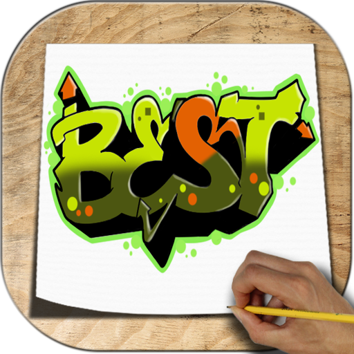 How to Draw Graffiti 3D Icon