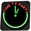 Glowing Neon Clock icon