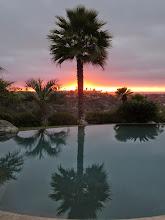 Photo: Funky sunset