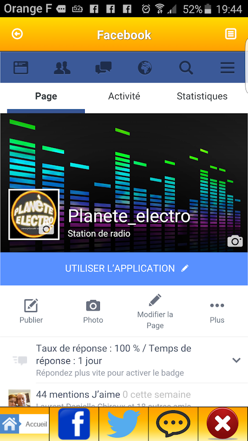 planete electro la radio- screenshot