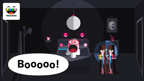 Toca Boo- screenshot thumbnail