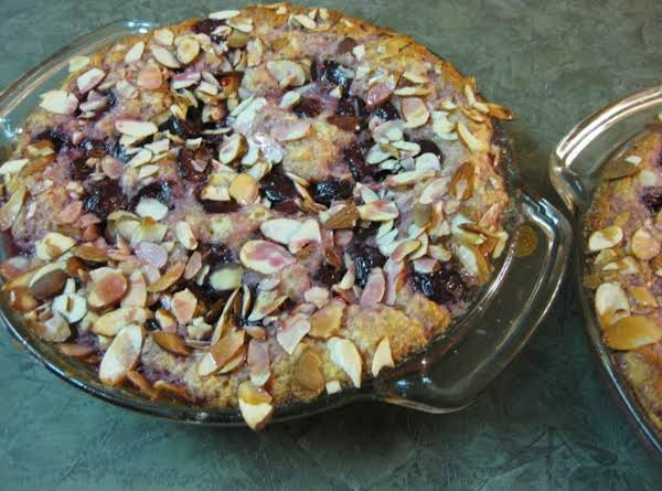 I Made This Delicious Cake-like Tart With Fresh Cherries, But It Would Be Fantastic With Peaches, Berries, Or Other Summer Fruits As Well.