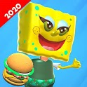 Scary Sponge Neighbor 3D - Secret Escape Games icon