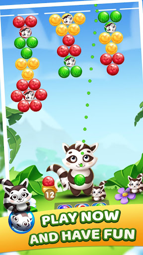 Raccoon Bubbles apkpoly screenshots 1