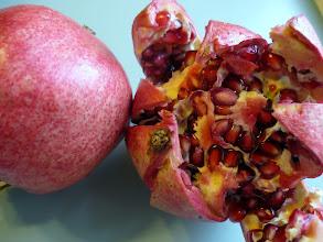 Photo: Pomegranates for homemade grenadine (p. 338 of The Drunken Botanist)