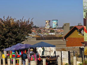 Photo: the most famous street in Johannesburg because two Nobel Peace Prize winners lived here- Nelson Mandela and Desmond Tutu