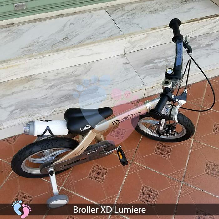 Xe đạp cho bé Broller XD Lumiere ss 10