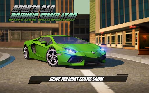 Sports Car Driving Simulator