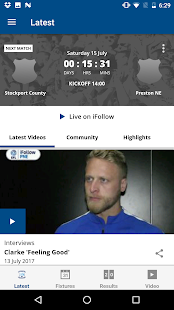 Preston North End Official App- screenshot thumbnail