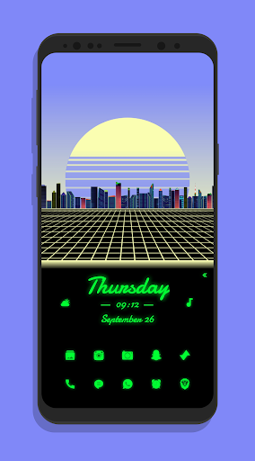 synth for klwp screenshot 1