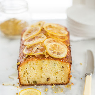 Turkish Yogurt Cake with Lemons and Pistachios
